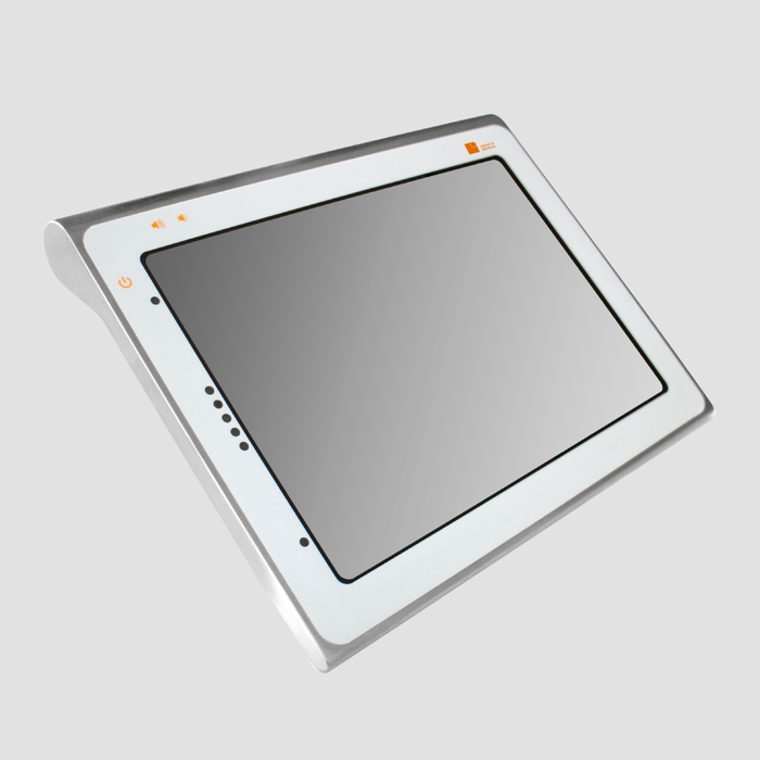 Stainless Steel Tablet with Apple iPad Pro