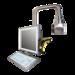 Flexible Tragarmsysteme für HMI-Systeme